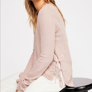FP One Cropped Interlaken Top - Lilac